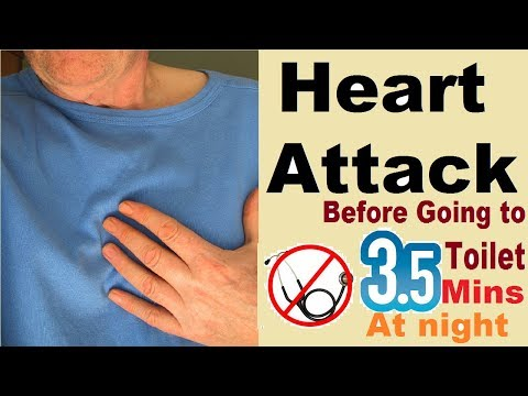 3.5 mins can save heart attack at night