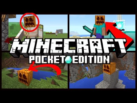 Minecraft Pocket Edition - THINGS YOU DIDN'T KNOW ABOUT PUMPKINS // [MCPE]