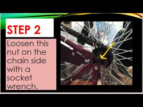 How to Replace a Tire Tube on a Huffy Catalina Bicycle
