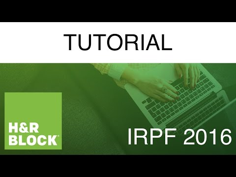 H&R Block - Tutorial