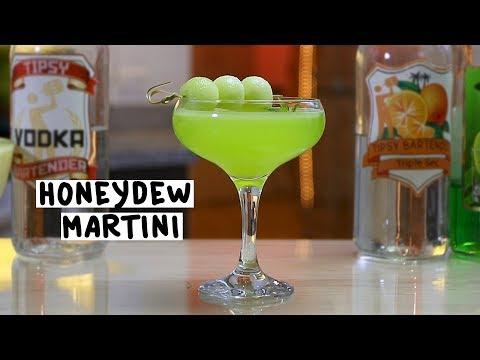 Honeydew Martini - Tipsy Bartender