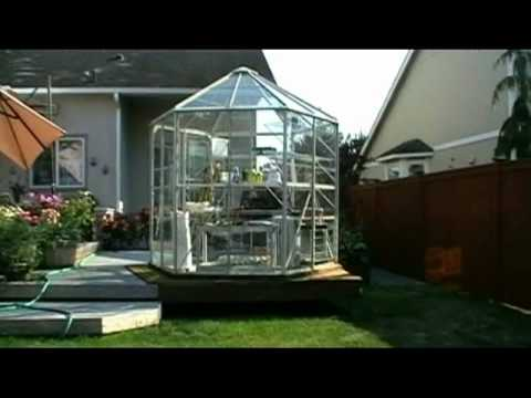 Your Own Gazebo Style Greenhouse