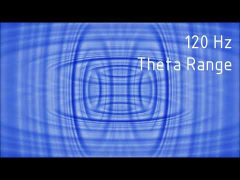 Pure 120 Hz Theta Range Binaural Beats [30 min]