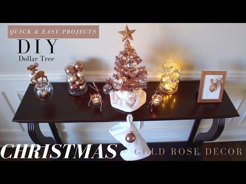 DIY PLAID CHRISTMAS DECORATIONS | DOLLAR TREE CHRISTMAS DECORATIONS