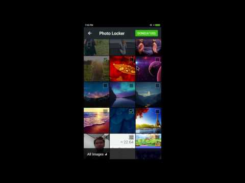 Hide photos on Android phone with Hide Photo app