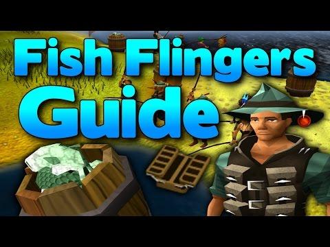Runescape - Fish Flingers Guide 2014 - Great Fishing XP