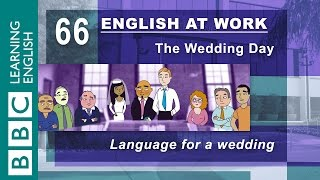 The wedding! - 66 - English at Work is getting hitched