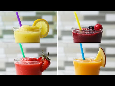 Frozen Lemonade 4 Ways