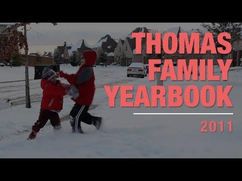 Thomas Family Yearbook 2011