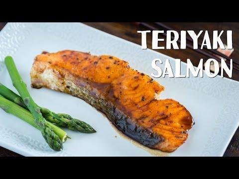 How To Make Teriyaki Salmon (Recipe) 照り焼きサーモンの作り方(レシピ)