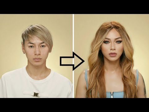Guy to Girl Makeup Transformation !!!