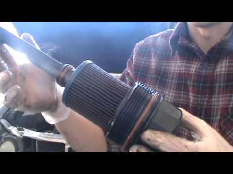 Cartridge style oil filter replacement