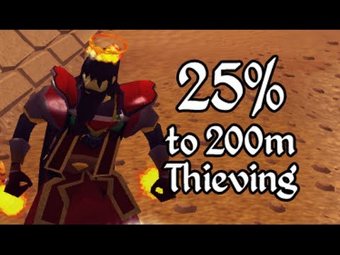 Runescape - 50,000,000 XP in Thieving!