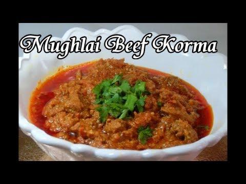 Mughlai Beef Korma