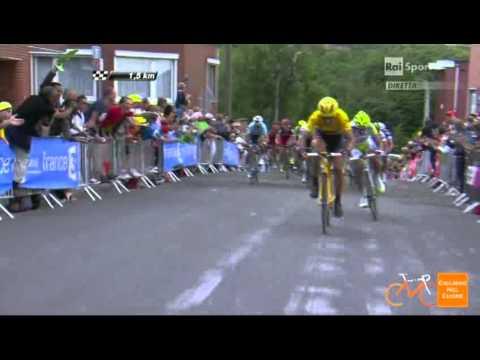 Peter Sagan vince la prima tappa del Tour 2012