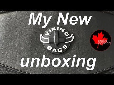 Viking Bags Large Backpack- The Unboxing