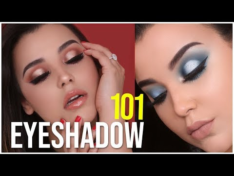 HOW TO MAKE ANY EYESHADOW POP! EYESHADOW TIPS + TRICKS FOR BEGINNERS   MakeupByAmarie