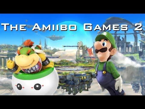 The Amiibo Games 2   Round 1 Set 3   Peach Fuzz (Bowser Jr.) vs. Bagel (Luigi)
