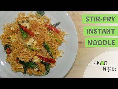 STIR-FRY INSTANT NOODLE