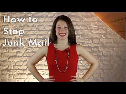 Opt Out: How to Stop Junk Mail