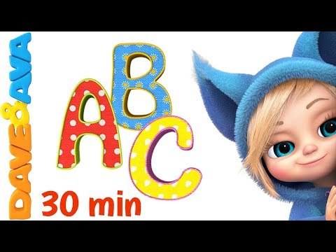 📚 Learn ABC's and Phonics   ABC Song   Nursery Rhymes & Kids Songs from Dave and Ava 📕