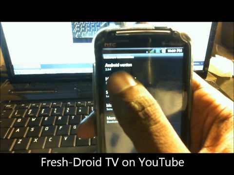 COREDROID 2.4 for HTC Sensation 4G and Unbranded walk through