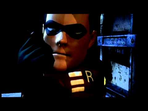 Big Head Animated Series Robin - Arkham City cutscene *spoilers*