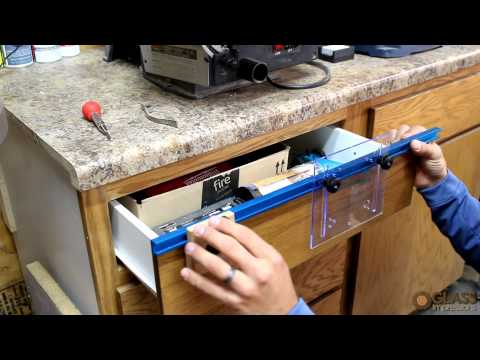 Build A Simple Jig To Drill Cabinet Handle Holes Perfectly Cabinet