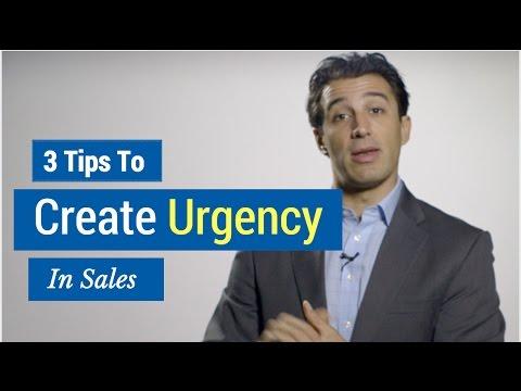 3 Tips to Create Urgency in Sales