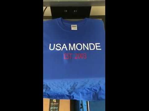 MY NEW [USA MONDE] T-SHIRT