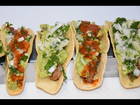 Fried Steak Tacos - Beef Taco Recipe - Taco Recipe