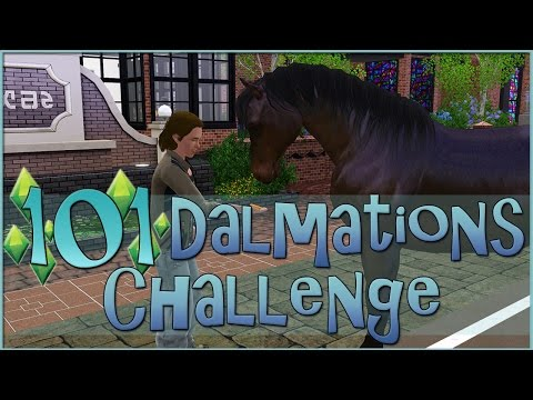 Class Interrupted by Wild Horses?! • Sims 3: 101 Dalmatians Challenge  - Episode #89