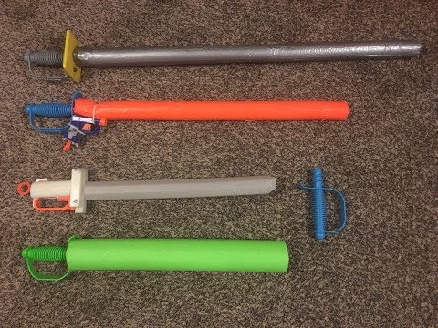 Care and feeding of Nerf Boffer Weapons