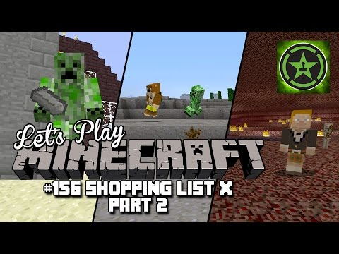 Let's Play Minecraft – Episode 156 – Shopping List X Part 2