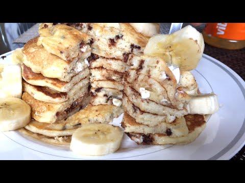 Lifting & Foodporn 23: White Chocolate Chip Pancakes