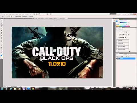 How to put a logo inside of a picture in photoShop Cs5