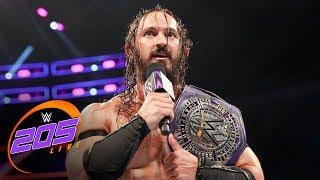 Akira Tozawa confronts WWE Cruiserweight Champion Neville: WWE 205 Live, June 27, 2017