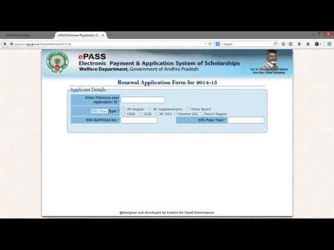 AP ePass Renewal Application Submission Procedure