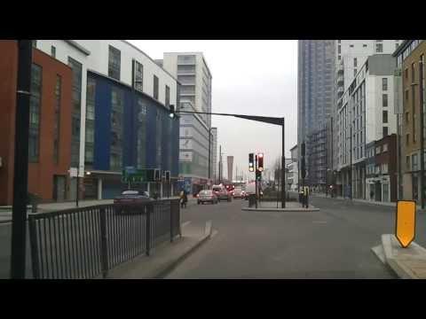 Driving in London - Leyton to Stratford