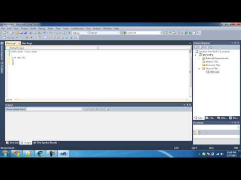 Creating Simple Project using Visual Studio - Tutorial 1
