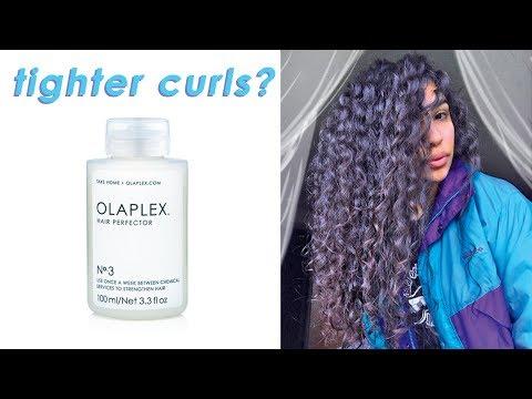 Olaplex No. 3 Treatment Review // Virgin Curly Hair