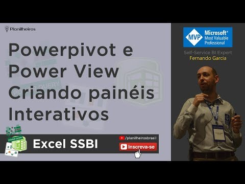 EXCEL 2013 - Power View + Powerpivot - Dashboards Interativos Profissionais