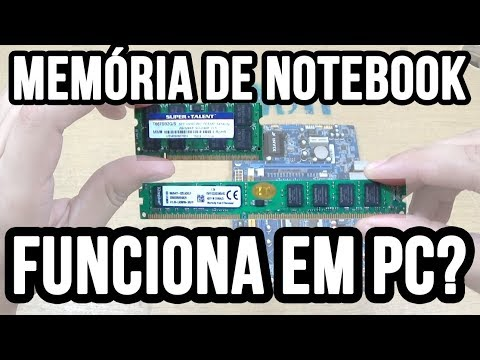 Memória de notebook funciona em pc / computador desktop?