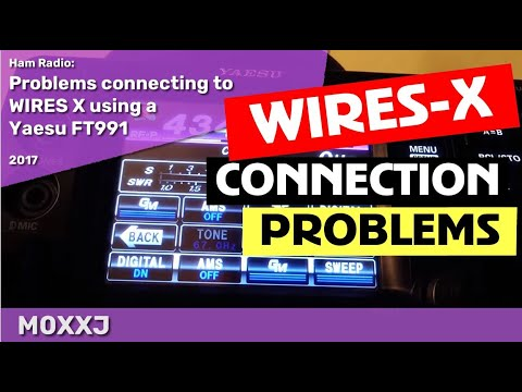 Problems connecting to WIRES X using a Yaesu FT991?