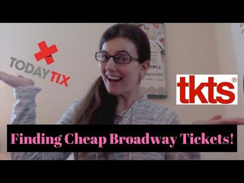 Finding Cheap Broadway Tickets!