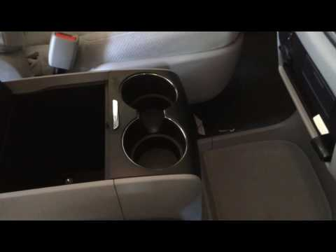 Center console  - Remove from Sienna 2015 2016