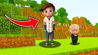 Minecraft : WE FOUND THE BOSSBABYS BROTHER (TIM) (Ps3/Xbox360/PS4/XboxOne/PE/MCPE)