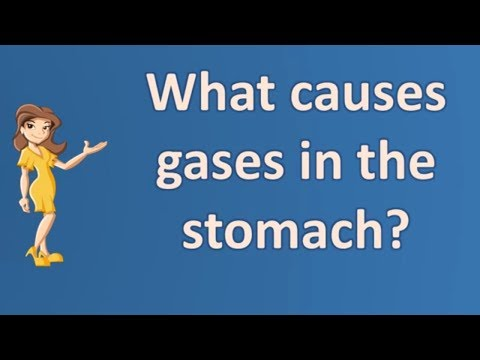 What causes gases in the stomach ? | Best Health Channel