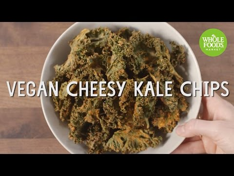 Vegan Cheesy Kale Chips l Special Diet Recipes | Whole Foods Market