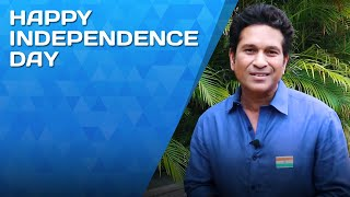 Sachin Tendulkar wishes all Indians a very Happy Independence Day!